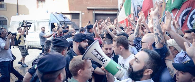 »Nein zum Ius soli« – massive Proteste in Rom