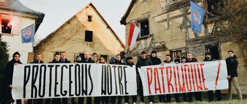 Bastion Social besetzt Häuser im Elsass – »Kulturelles Erbe bewahren«
